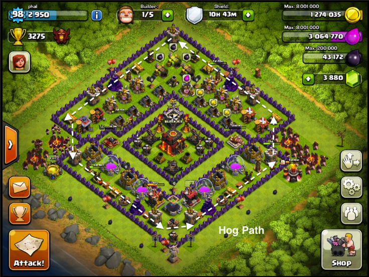 Trophy Base Town Hall 10